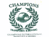 Logo Champions International Transports And Moving