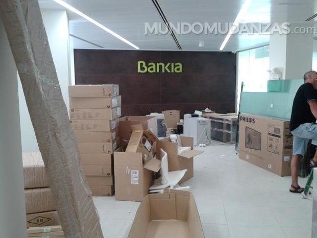 Mudanzas madrid 24 for Telefono oficina bankia